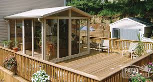 How To Build A Backyard Patio by How To Build Your Own Sunroom With A Sunroom Kit