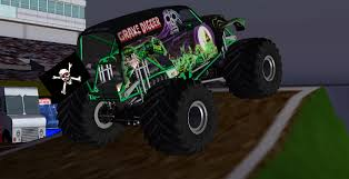 grave digger monster truck poster sim monsters