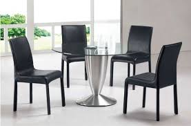 Glass Round Dining Room Table by Marvelous Ideas Dining Room Chairs Set Of 4 Most Interesting Glass