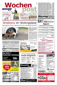 Schlafzimmerm El Altdeutsch Die Wochenpost U2013 Kw 36 By Sdz Medien Issuu