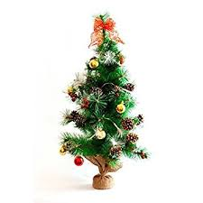 32 pre lit tree with decorations and