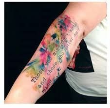 very cool water color tattoo tattoo pinterest water color