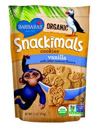 barbara u0027s unveils usda certified organic snackimals cookies