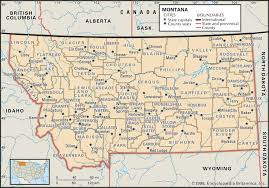 Map Of Spokane Historical Montana Map Atlas U0026 Dot Highway Map Collection