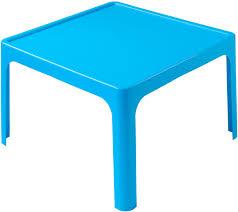 plastic table for childrens resin table kids plastic table blue tikk tokk