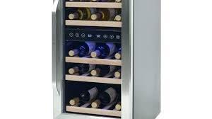 Front Vent Wine Refrigerator Bottle Front Venting Wine Chiller White