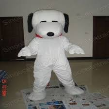snoopy dog size cartoon mascot costume fancy dress