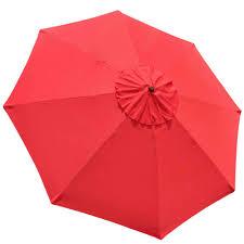 Deck Umbrella Replacement Canopy by 10 U0027 Umbrella Replacement Cover Top 8 Rib Deck Outdoor Canopy