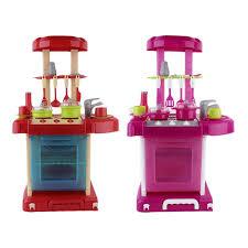 grande cuisine enfant ocday multifonctionnel enfants jouer jouet fille jouet de bébé
