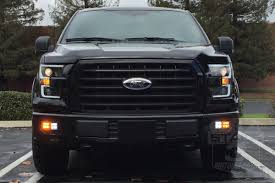 2015 2017 f150 anzo led switchback outline projector headlights
