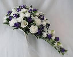 Purple Lillies Artificial Wedding Flowers Bouquets Brides Bouquet Cala Lilies