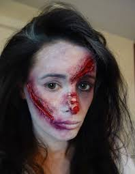 latex for halloween makeup annette o u0027brien how to halloween makeup