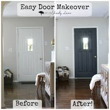 Interior Door Makeover A Modern Farmhouse Door Makeover On Shady