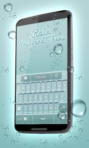 keyboard themes for android free download rain keyboard theme free apk android app android freeware