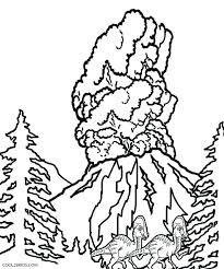 coloring pages volcano volcano coloring pages volcano coloring page volcano coloring pages