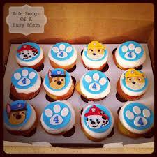 25 paw print cakes ideas puppy patrol paw