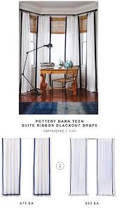 williams sonoma striped edge linen drape copycatchic