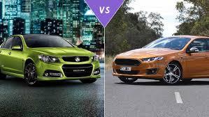 commodore ssv redline vs fg x ford falcon xr8 review carsguide