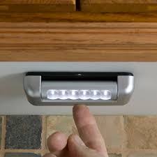 under cabinet led lights light it under cabinet led touch light in led lights