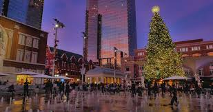 sundance square tree lighting 2017 sundance square fort worth nov 2017 a 65 foot tall natural