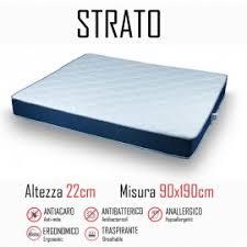materasso 90x190 materasso fuori misura mondialshop
