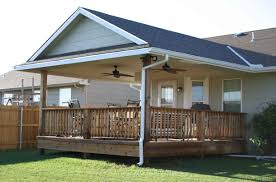 want to add a covered back porch to our house next year house