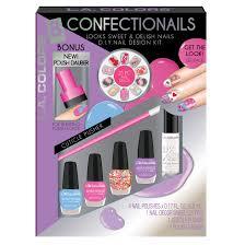 l a colors 8 pc confectionails d i y nail kit beauty beauty