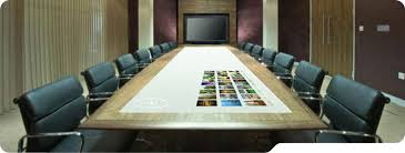 Interactive Meeting Table Yoursurface Interactive Conference Table
