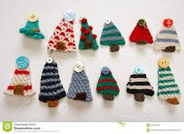 handmade product knitting ornament stock