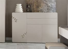 commode contemporaine chambre chambre contemporaine grise 5 commode design 3 portes et 2
