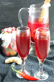 blood punch recipe non alcoholic halloween beverage