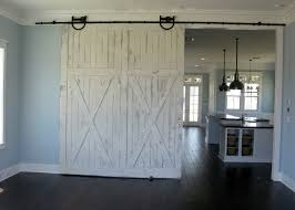 Barn Door Room Divider Great Rustic Hardware Makes This Easy To Close By Anyone Family