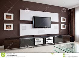 home theater walls modern home theater room interior with flat screen tv royalty free