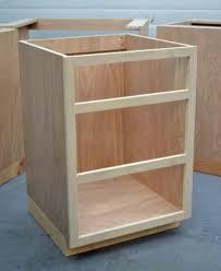 kitchen cabinets carcass ana white face frame base kitchen cabinet carcass diy projects