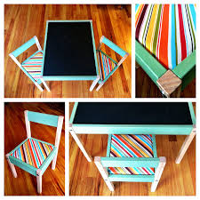 Ikea Tables And Chairs by Makeover Diy Ikea Latt Children U0027s Table And Chair Set By