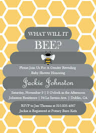 what will it bee baby shower baby shower invitations what will it bee at minted