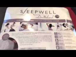 Sleepwell Heated Duvet Sleepwell Superking Size Dreamland Mattress Cover Youtube