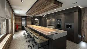 chalet cuisine creation of professional 3d renderings luxurious chalet