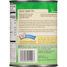 Country Apple Rugs by Duncan Hines Comstock Original Country Apple Pie Filling U0026 Topping