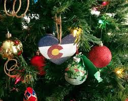 colorado ornaments etsy