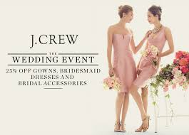 wedding sale j crew wedding event sale