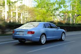 bentley continental flying spur rear 2014 bentley flying spur first drive motor trend
