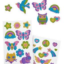 mess free glitter friendship foam stickers after gifts