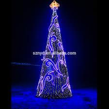 outdoor lighted christmas trees sacharoff decoration