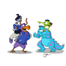 monsters university rochejii deviantart