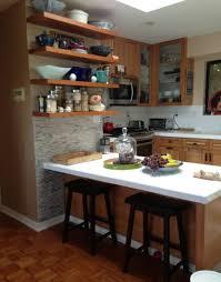 Kitchen Stone Backsplash Ideas Mesmerizing Natural Stone Tile Kitchen Backsplash Come With Cream