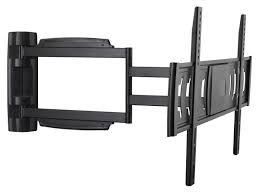 Wall Mount 32 Flat Screen Tv Full Motion Tv Wall Mount Max 55 Lbs 32 60 Inch Monoprice Com