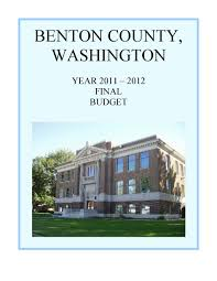 budget documents benton county wa