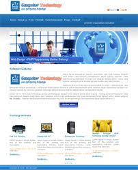 cara membuat halaman utama web dengan php belajar membuat layout website lengkap dengan tag div dan css