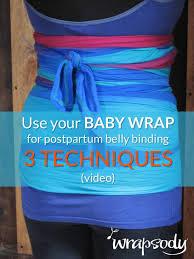 postpartum belly wrap belly binding for diastasis 3 ways wrapsody